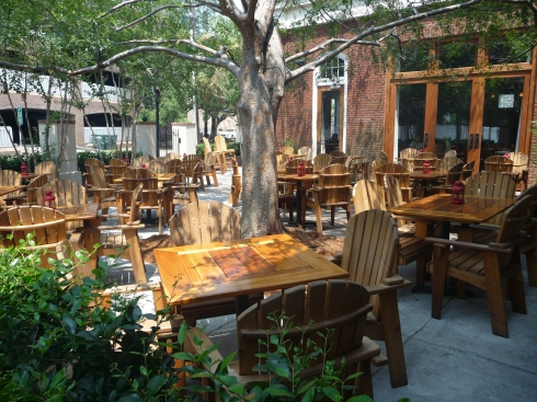 Patio at Leaf
