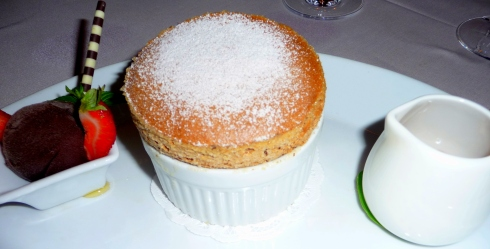 Chocolate Truffle Souffle