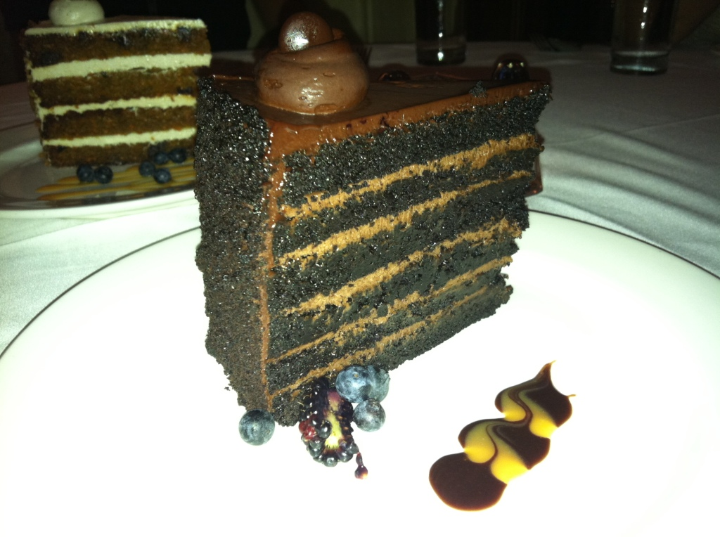 Chocolate Cake at Oak